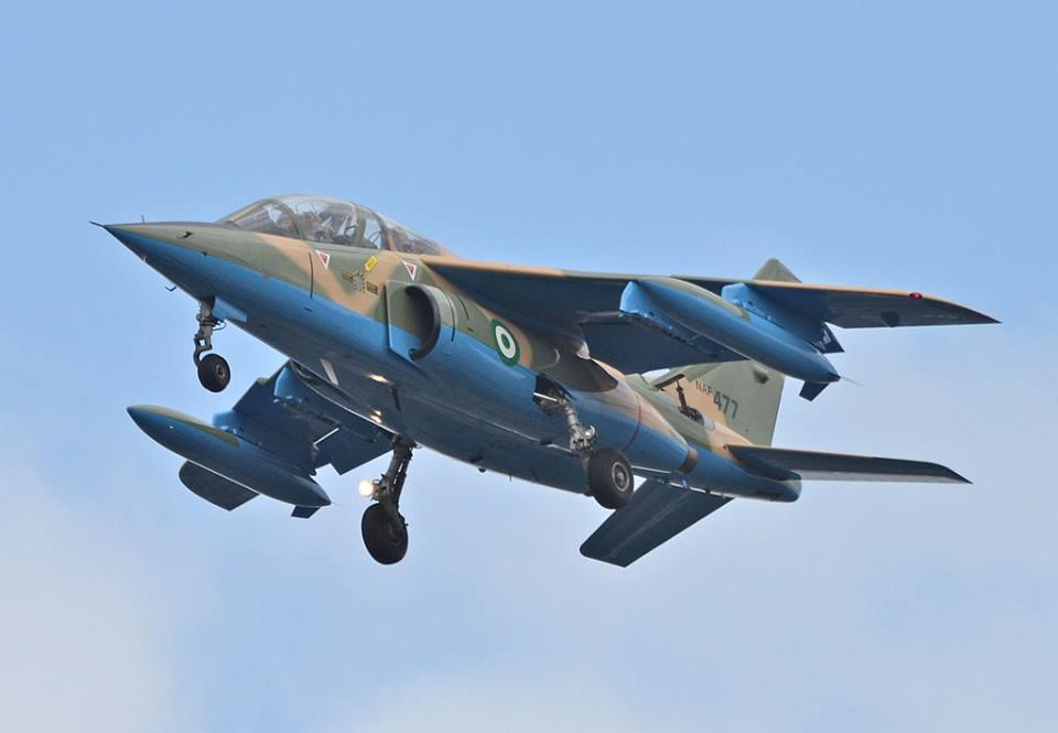 Air Force Bombs Boko Haram Camps