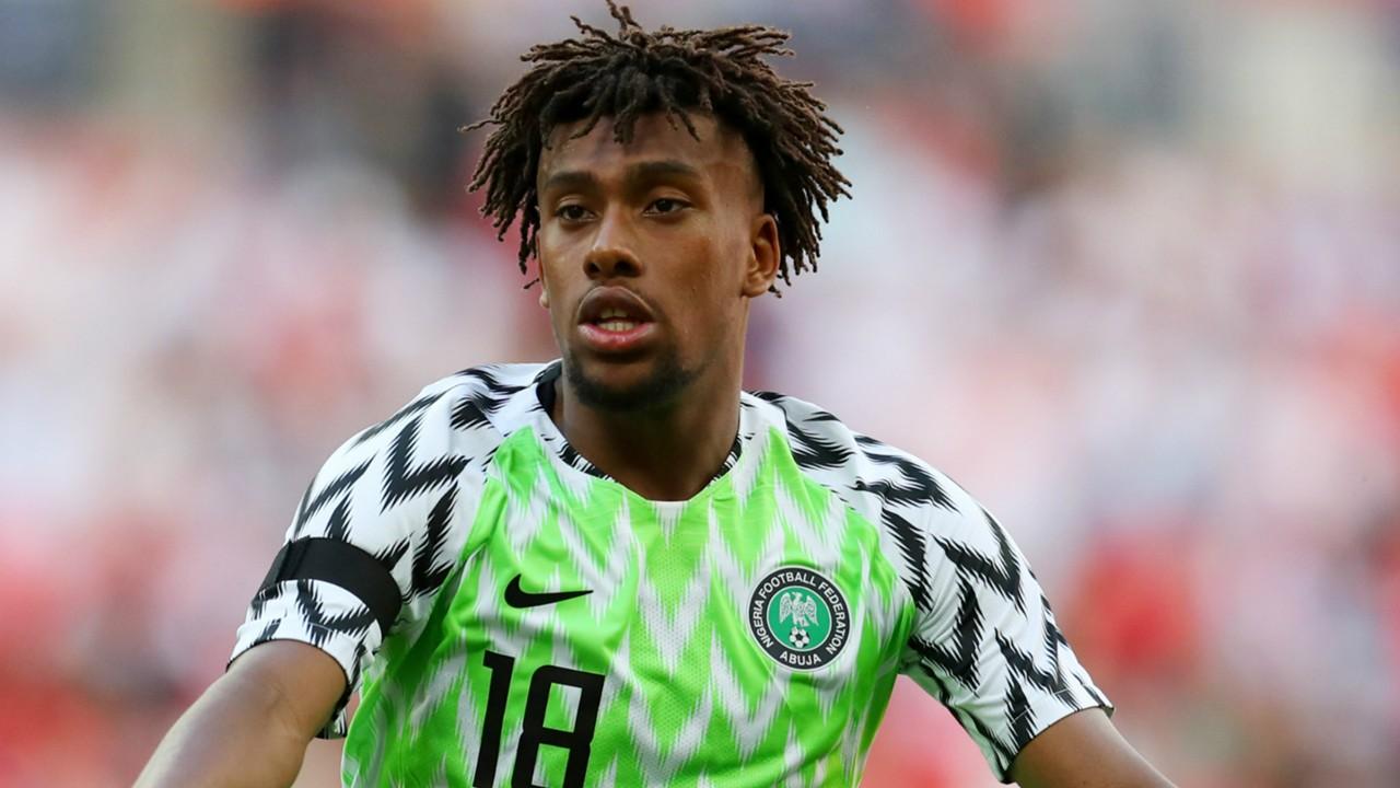 Arsenal Hails Iwobi For Impressive Showing Against Libya