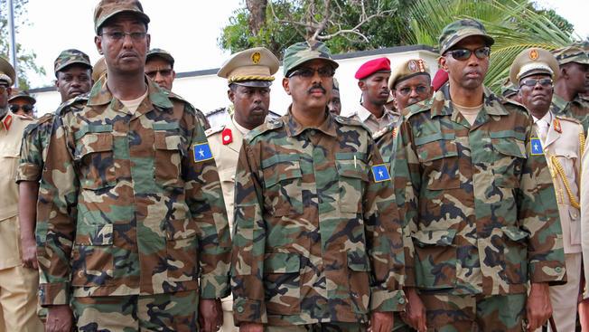 Somali Major To Die For Killing Commander