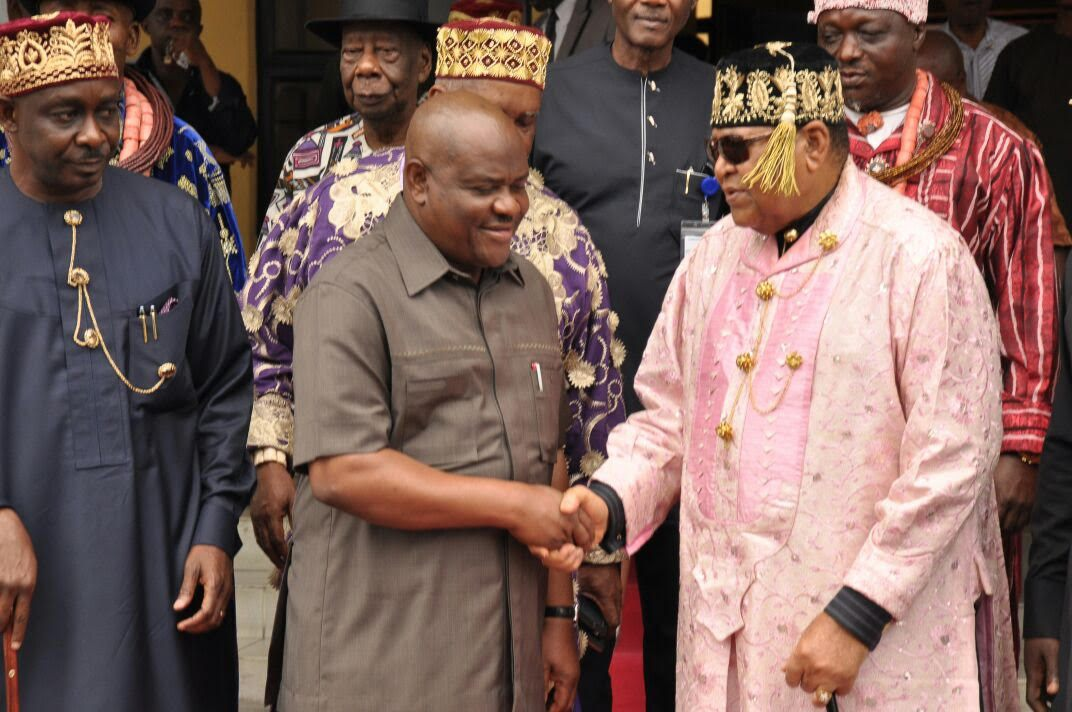 Rivers Traditional Chief Asks Wike To Support Buhari, Cole Ahead Of 2019 Polls