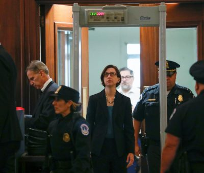 Impeachment Inquiry: Police Invited To Intervene As Trump Loyalists Disrupt Proceedings