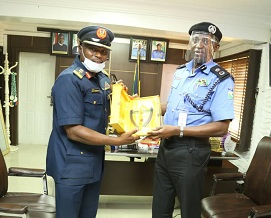 Fighting Crime: Lagos Police Commissioner Partners New Air Force Commander