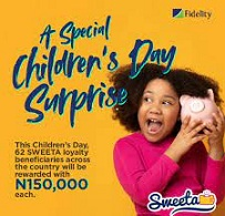 Children's Day Festivity: Fidelity Bank Distributes N9.3m To 62 Account Holders Nationwide
