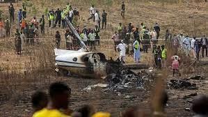 Plane crash: Gen. Buratai Commiserates With President Buhari, Nigerian Army, Families of Victims