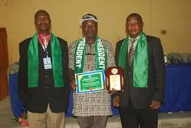 CFN President Bags Fellowship Award Of Certified Institute Of Sport Management