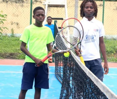FAAN Tennis Club Rewards Young Players With Cash, Other Items