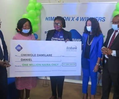 EcobankNigeria Celebrates Four Millionaire Customers